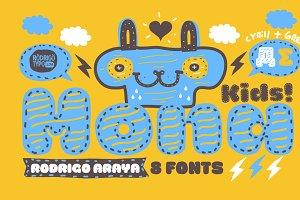 La Mona Kids / Cyrillic+Greek -85%