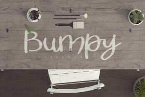 Bumpy Typeface [-50% Intro]