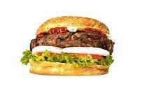 Big hamburger with