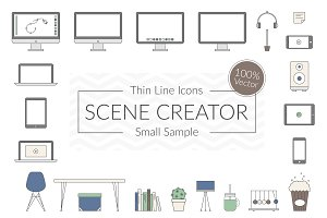 Vector Scene Creator – Small Sample