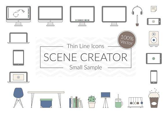 Vector Scene Creator – Small Sample