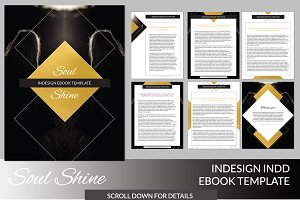 Soul Shine INDD Ebook Template