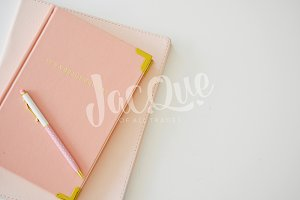 Feminine Styled Stock Notebook