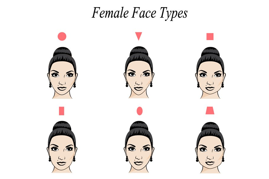 Cool Face Shape Custom Designed Graphics Creative Market Schematic Wiring Diagrams Amerangerunnerswayorg
