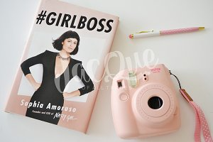 Feminine Styled Desk Stock GirlBoss