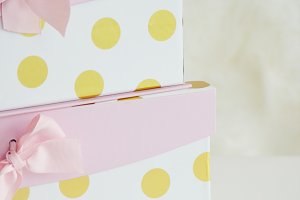 Stylized Stock Gift Box