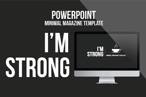 I'am Strong - Minimal Powerpoint