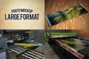 Large Format Print Mockups