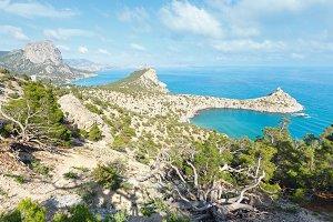 Coastline of Novyj Svit, Crimea