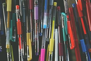 Colorful Pens 2