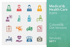 Medical Services Icons 1 | Colored