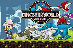 Dino World - Game Sprites