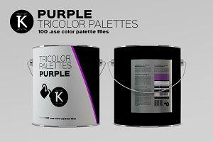 Purple Tricolor Palettes