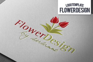 Flower Design Logo