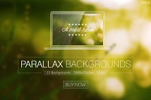 Parallax Blurred Backgrounds Vol.2