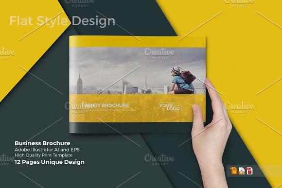A4 business brochurecatalog brochure templates creative market a4 business brochurecatalog brochures accmission Gallery