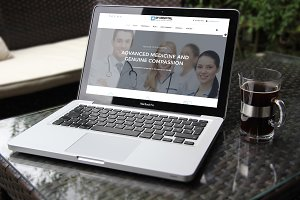 AT Hospital Onepage Joomla Template