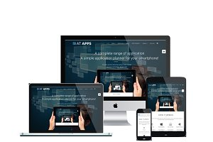 AT Apps Onepage Joomla Template