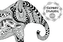 Elephant Drawing