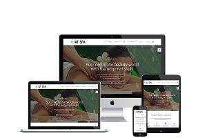 AT Spa Onepage Joomla Template