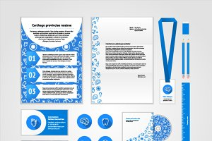 Medical corporate identity design