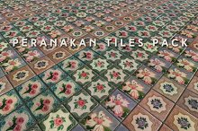 Peranakan Tiles (Tileable) by  in Tile