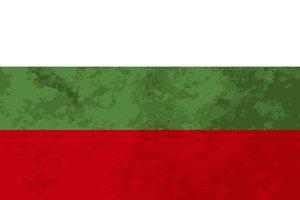 True proportions Bulgaria flag