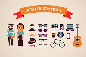 Hipster infographic