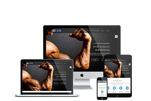 AT Gym Onepage Joomla Template