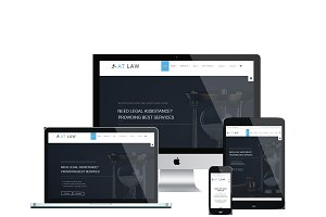 AT Law Onepage Joomla Template