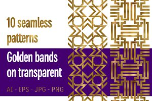 10 golden bands patterns