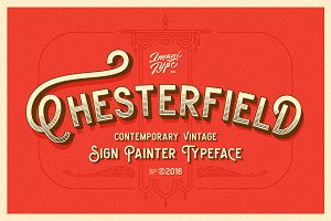 Chesterfield Typeface