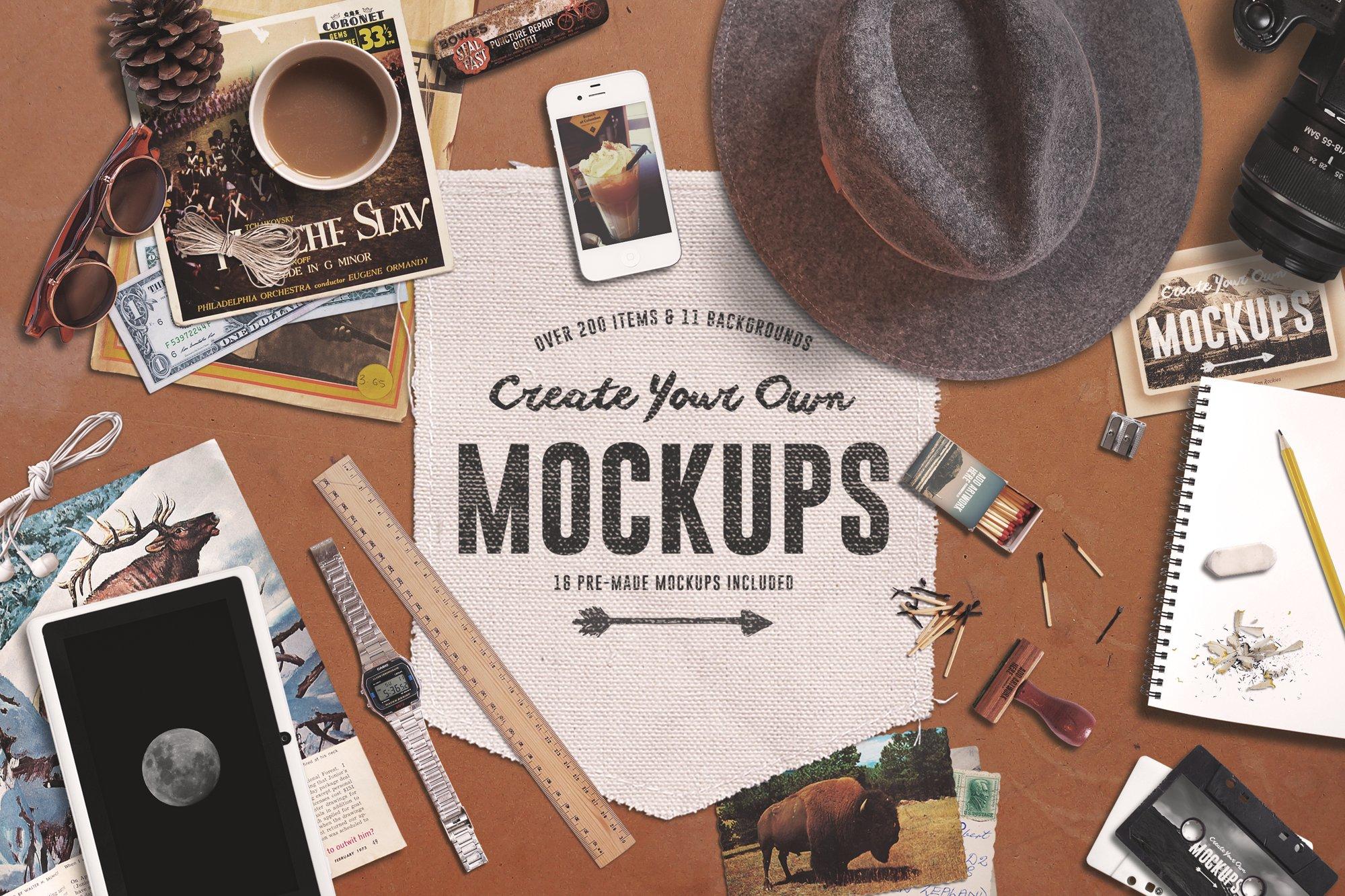 Download Create Your Own Mockups   Creative Mobile & Web Mockups ... Free Mockups