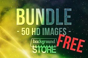 50 Free Backgrounds Bundle