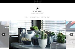 Concept - eCommerce Portfolio WP