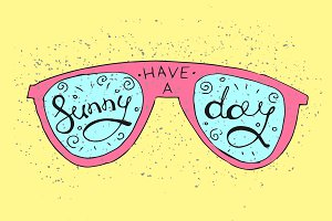 Sun Glasses Illustration
