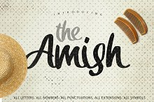 The Amish Typeface [-50% Intro]