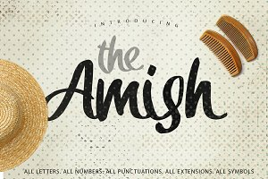 The Amish Typeface