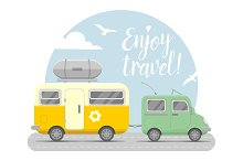 Travel trailers collection