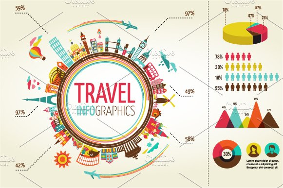 Create your own infographics with these 65 templates creative travel infographics by marish in templates pronofoot35fo Gallery