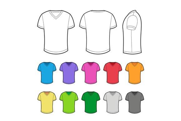 T-shirt Set in various colors