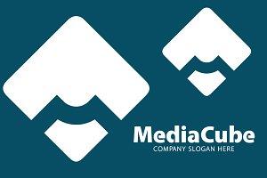 Media M Letter Logo