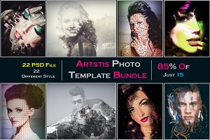 Artstic Photo Template Bundle