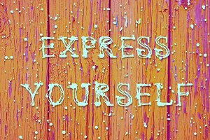 Express Yourself Font + Bonus