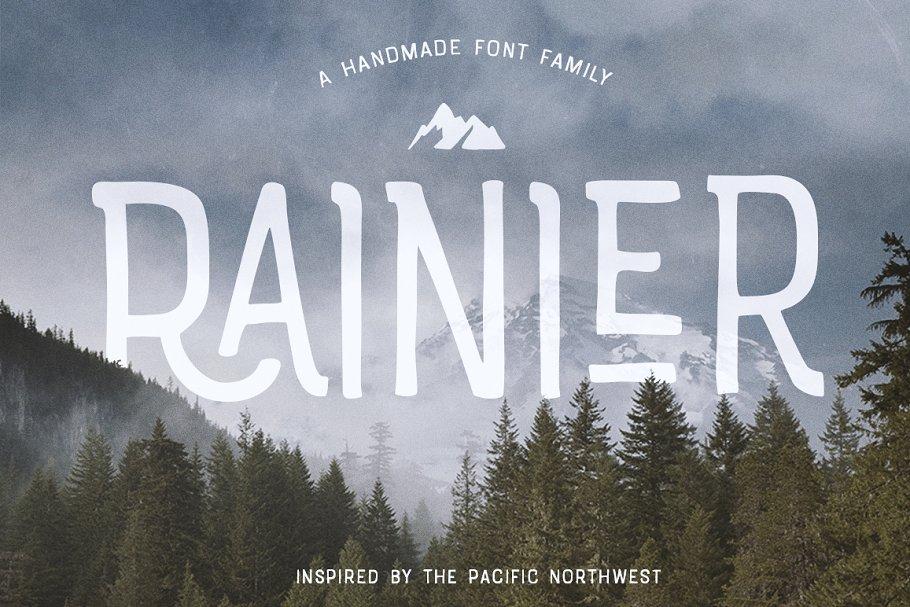 Rainier Font + webfonts