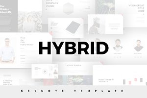 Hybrid Minimal Keynote Template