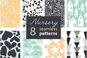 8 Fun Neutral Nursery Patterns