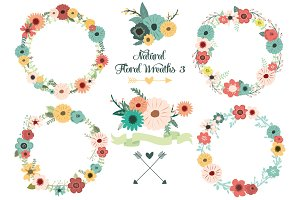 Natural Floral Wreaths III