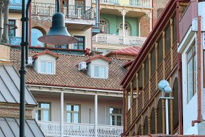balconies Tbilisi