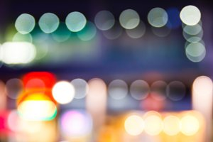 Blur light bokeh